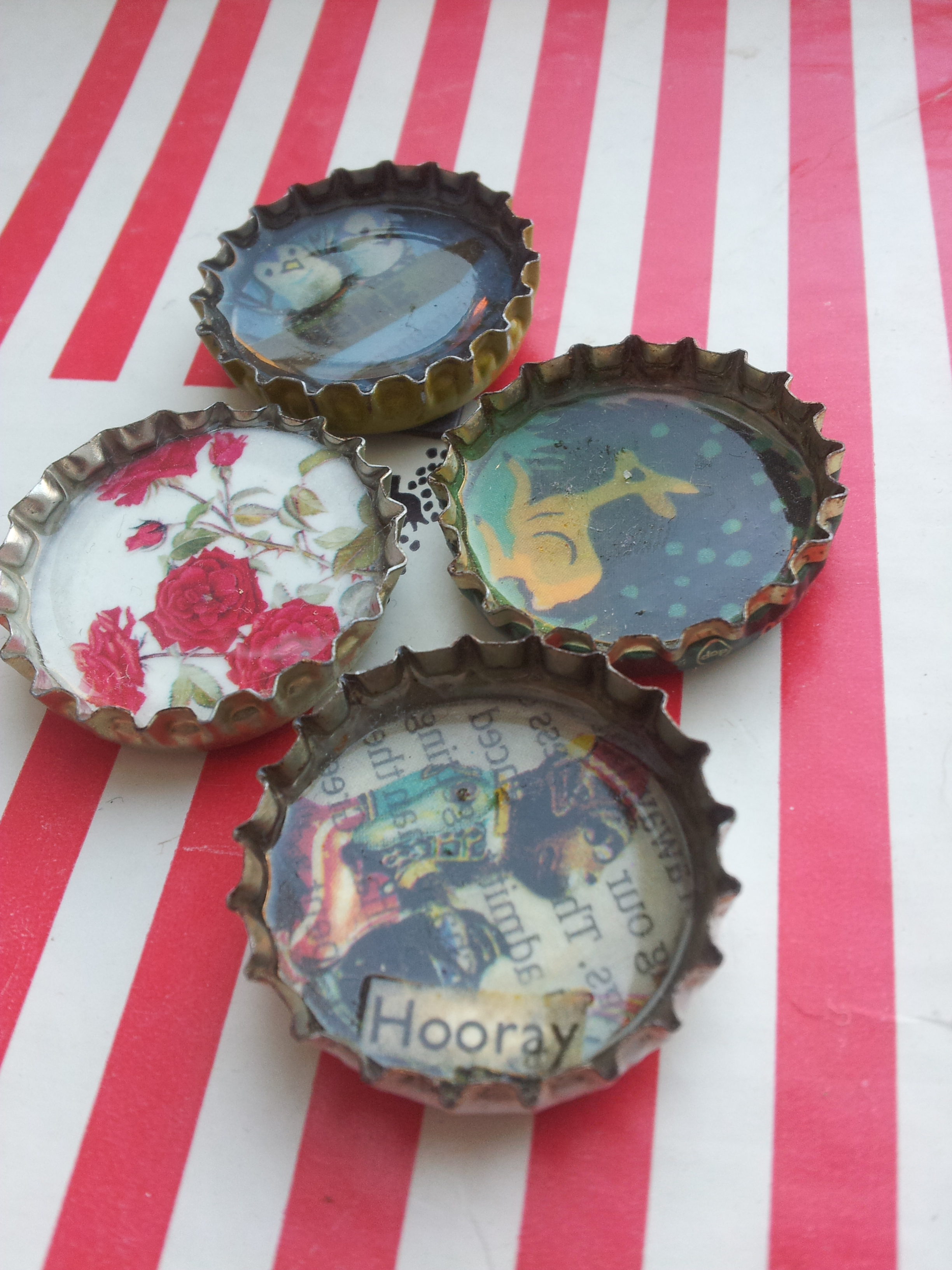 bottle cap crafts bottletop magnets a craft lulastic and the 1160