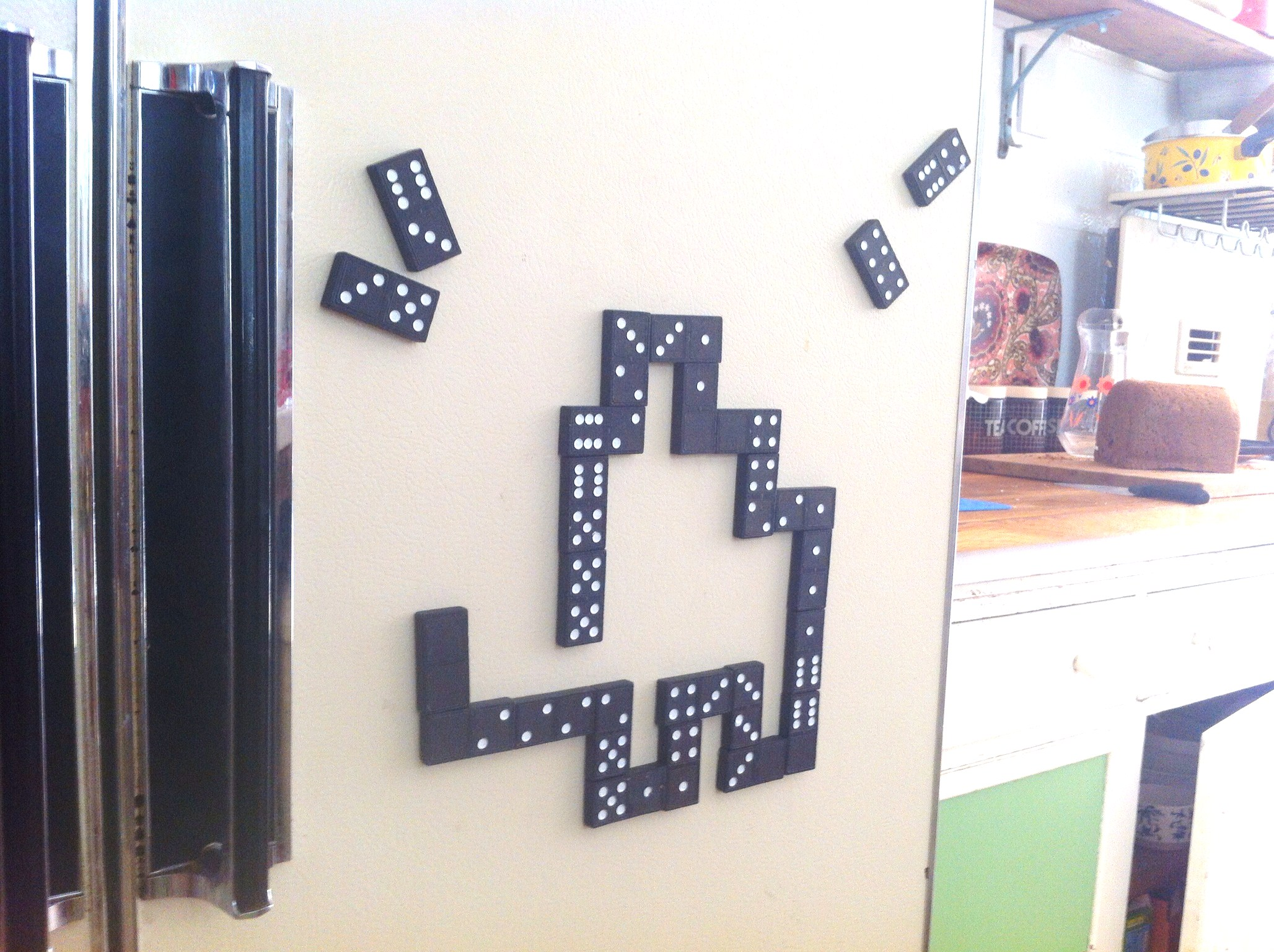Dominoes Fridge Magnets The Quickest Most Fun Craft Ever Lulastic And The Hippyshake