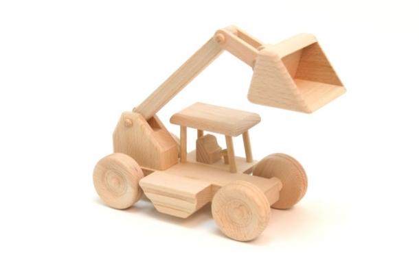 Handmade Wooden Digger